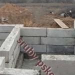 блочный фундамент для сруба бани 5 на 5