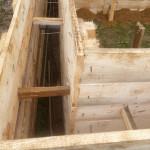 Опалубка деревянная под ленточный фундамент