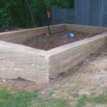 Ленточный фундамент под сруб бани