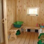 комната отдыха в бане 3х5