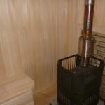 Печь металлическая в бане