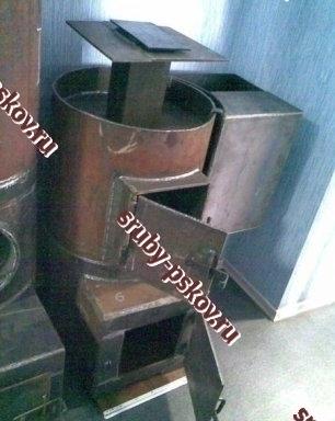 печь из металла