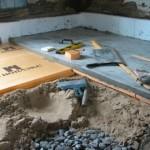 Подготовка грунта в подполе