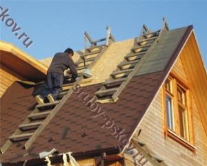 Фото крыши частных домов