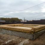 Сборка сруба 6 на 6 метров